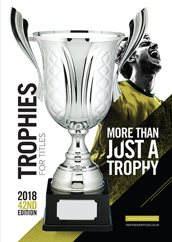 Trophies for titles 2018